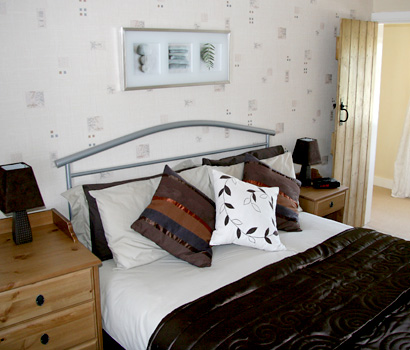 Main Bedroom at Galloway Cottage